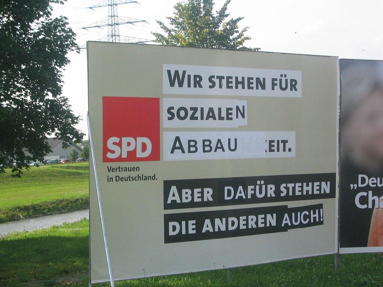 Adbusting SPD-Wahlplakat Bundestagswahl September 2005.jpg