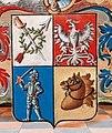 Adelsdiplom - Schlemer von Ehrenrang 1802 - Wappendetail.jpg