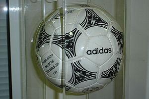 Adidas Questra - An Adidas Questra football
