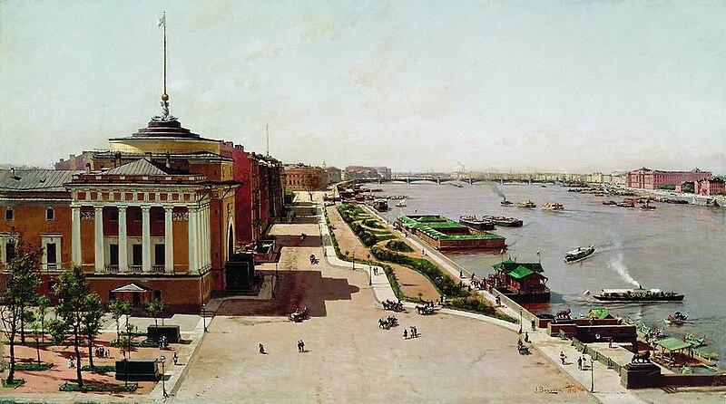 Файл:Адмиралтейская Набережная - 1881.jpg