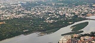Adyar River river in India