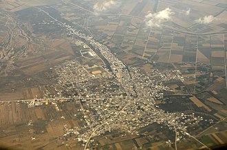 Kalâat el-Andalous - Image: Aerial View Kalâat el Andalous 2010
