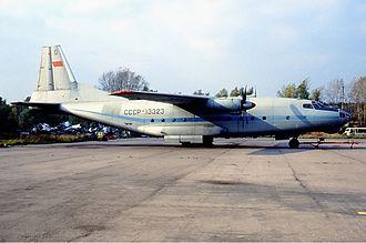 Antonov An-8 - An-8 of Aeroflot in 1992