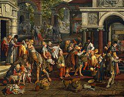 Pieter Aertsen: Christian Charity