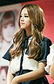 Ahn Solbin at a fansigning event in Incheon, 8 November 2014.jpg