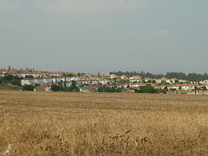 Community settlement (Israel) - View of Ahuzat Barak