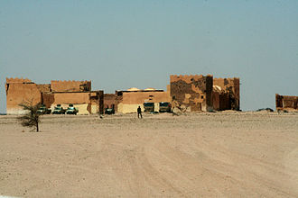 Ain Ben Tili - May 2010 photograph of the fort