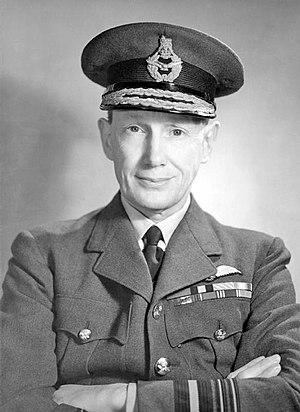 Douglas Evill - Air Marshal Sir Douglas Evill c.1943