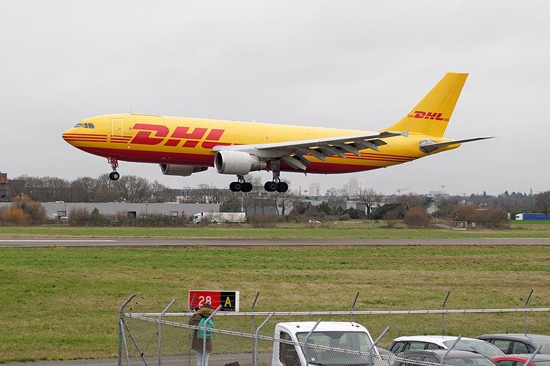 DHL Airbus A300, Foto von Dylan Agbagni