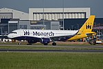 Airbus A320-214(w) 'G-ZBAS' Monarch Airlines (41197841544).jpg