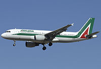 I-BIKI - A320 - Alitalia