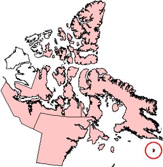 Akpatok Island - Akpatok Island, Nunavut.