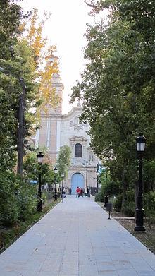 Jard n de floridablanca wikipedia la enciclopedia libre for Jardin de la polvora murcia
