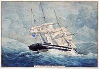 Albany-sloop-Currier-Ives