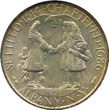 Albany charter half dollar commemorative obverse-cutout.png