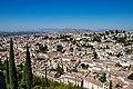 Albaycin desde la Alhambra I.jpg