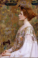 Albert Herter - Woman with Red Hair - Google Art Project.jpg