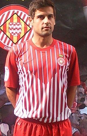 Albert Dorca - Dorca as a Girona player in 2011