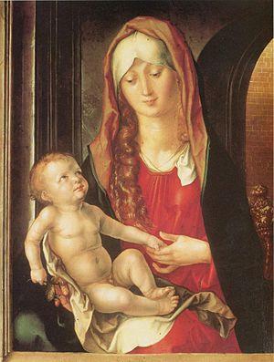 Bagnacavallo Madonna - Image: Albrecht Dürer 062