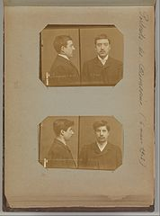 Album of Paris Crime Scenes - Attributed to Alphonse Bertillon. DP263681.jpg
