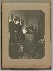 Album of Paris Crime Scenes - Attributed to Alphonse Bertillon. DP263704.jpg