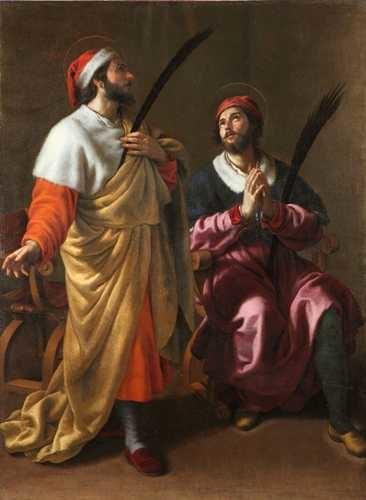 Alessandro Turchi - I Santi Medici (Bitonto)