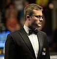 Alex Crisan at Snooker German Masters (DerHexer) 2015-02-05 01.jpg