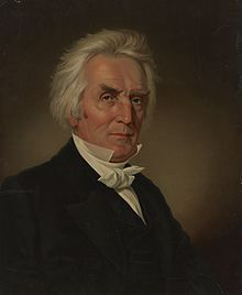 Alexander Campbell, founder of the Disciples of Christ, head-and-shoulders portrait.jpg