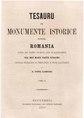 Alexandru Papiu-Ilarian - Tesauru de monumente istorice pentru România - Atâtu din vechiu tipărite câtu și manuscripte cea mai mare parte străin.pdf