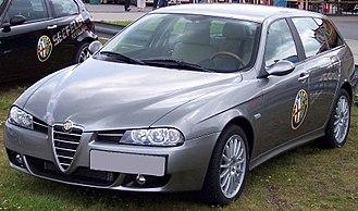Alfa Romeo 156 - New front end in second series (2003) Sportwagon