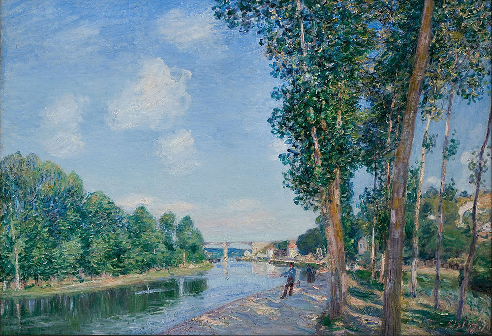 Alfred Sisley - Saint-Mammès. June Sunshine - Google Art Project.jpg