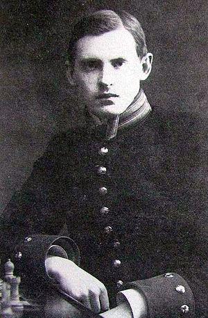 Alexander Alekhine - Alekhine in 1909