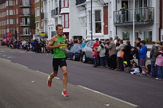Alistair Cragg - Image: Alistair Cragg Great South Run 2011