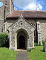 All Saints, Wreningham, Norfolk Porch - geograph.org.uk - 852759.jpg