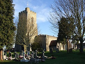 Marsworth - Image: All Saints Church, Marsworth geograph.org.uk 325892