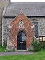 All Saints Church, Thorpe Abbotts, Norfolk - Porch - geograph.org.uk - 804887.jpg