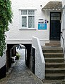 Alleyway from Fore Street to the harbour, St Ives - geograph.org.uk - 1548926.jpg