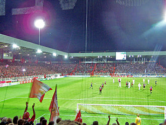 2. Bundesliga -  The Stadion An der Alten Försterei is the home of 1. FC Union Berlin. The club is competing in the 2. Bundesliga for seven consecutive seasons.