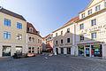 Altmarkt Löbau (Blick Richtung Sporgasse und innere Bautzner Straße).jpg