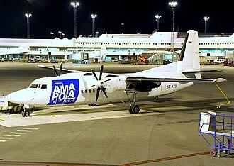 Amapola Flyg - Fokker 50 of Amapola Flyg