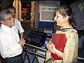 Ambika Soni Visiting Space Odyssey - Science City - Kolkata 2006-07-04 04814.JPG