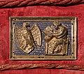 Ambito di nicola pisano, placchette della sacra cintola della cattedrale di pisa, 1280 ca., 04 giovanni evangelista.jpg