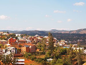 Ambositra - View of Ambositra