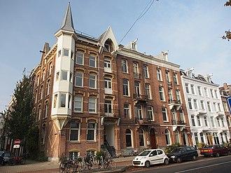 Oude Pijp - Image: Amsteldijk hoek Tweede Jan Steenstraat pic 2