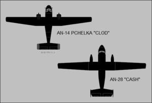 Antonov An-28 - Comparison of the An-14 and the An-28