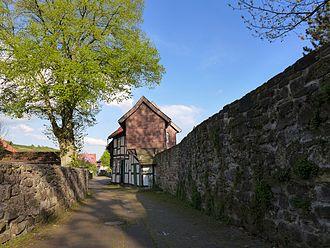 Dassel - Image: An der Stadtmauer Dassel