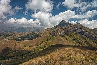 Western Ghats Mountain range along the western coast of India