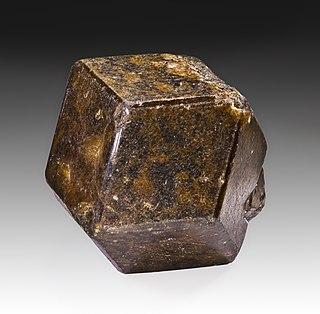 Andradite Nesosilicate mineral species of garnet