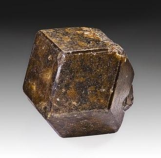 Andradite - Single crystal (4.2cm) – Diakon, Nioro du Sahel Circle, Kayes Region, Mali