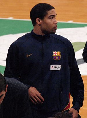 Andre Barrett - Barrett during his tenure with  Barcelona.